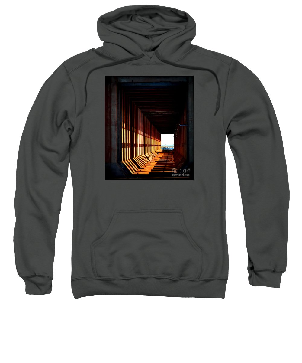 Rays Sweatshirt featuring the photograph Rays Of Light by Jaunine Roberts