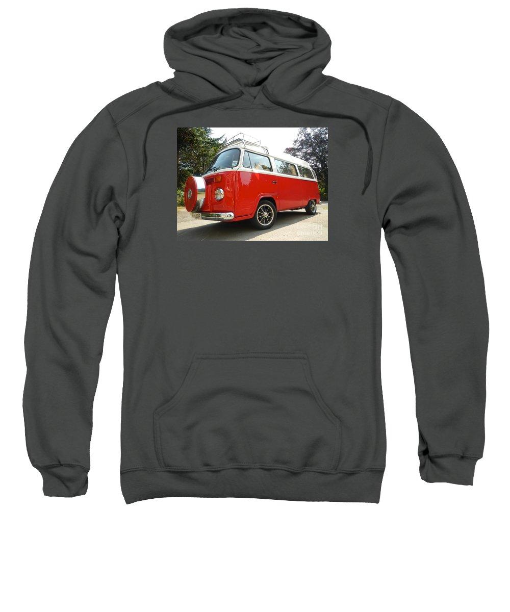 Volkswagen Sweatshirt featuring the photograph Red Nose by Loreta Mickiene