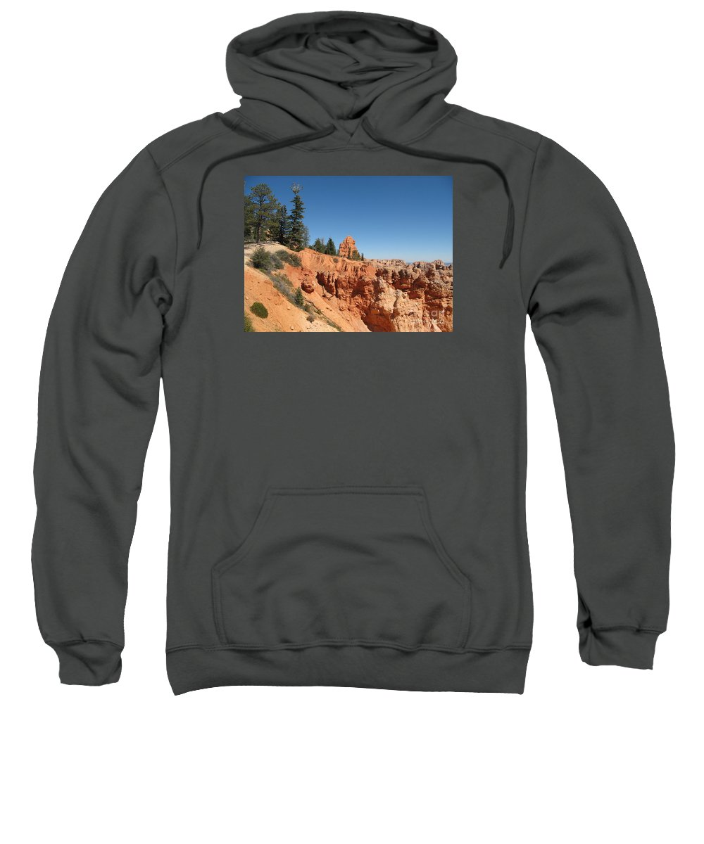 Rocks Sweatshirt featuring the photograph Red Red Rocks by Christiane Schulze Art And Photography