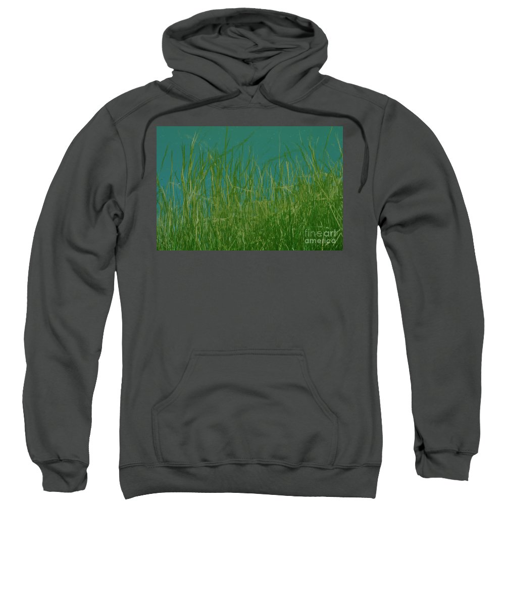 Absract Sweatshirt featuring the photograph Reflection by John Greco