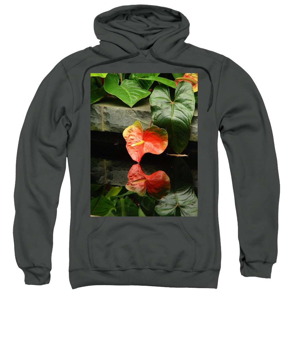 Fine Art Sweatshirt featuring the photograph Reflection Of My Soul by Rodney Lee Williams