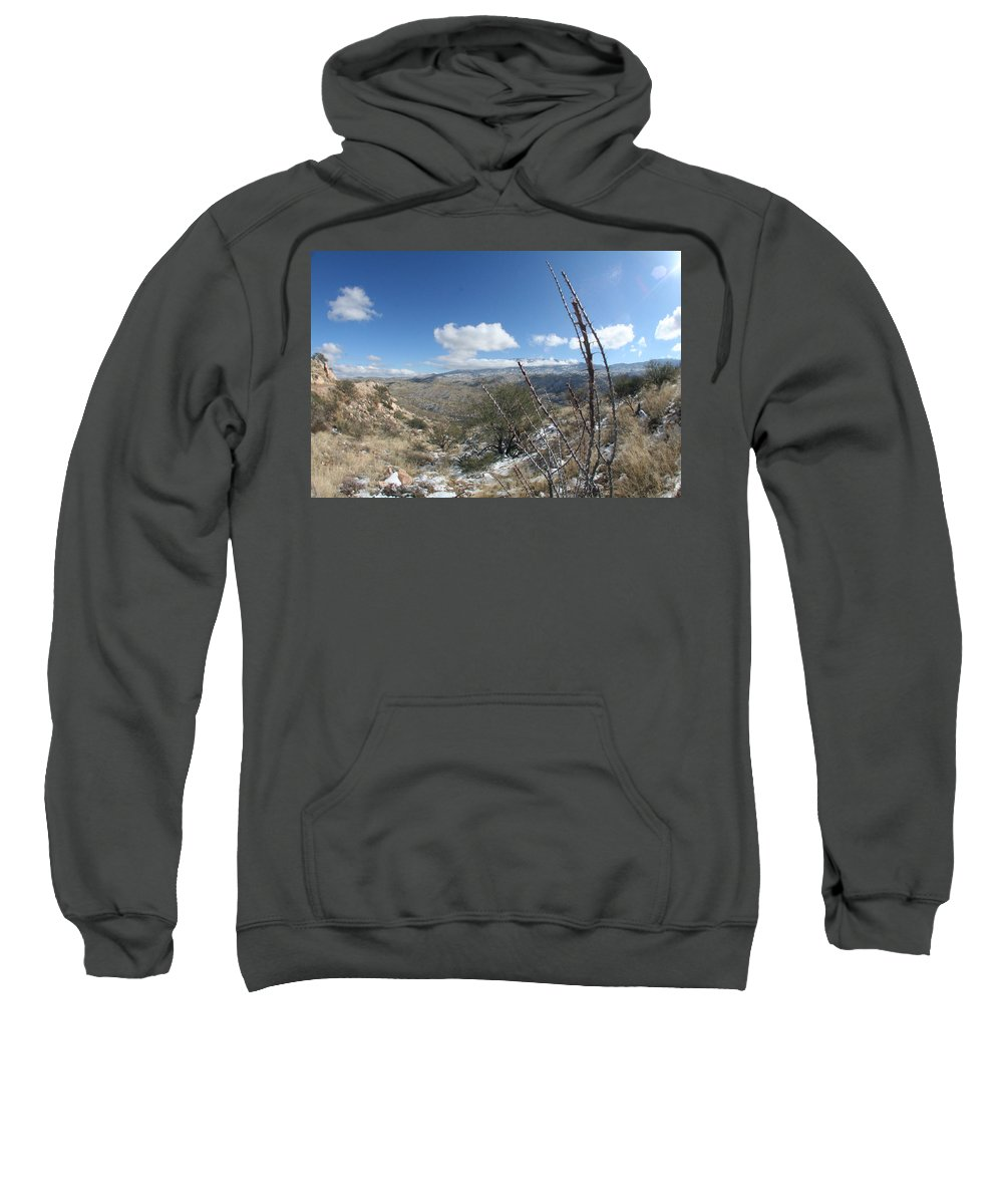 Valley Sweatshirt featuring the photograph Rincon Valley by David S Reynolds