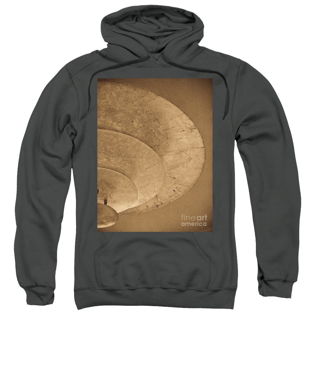 Abstract Sweatshirt featuring the photograph Ripples Of The Ceiling by Fei A