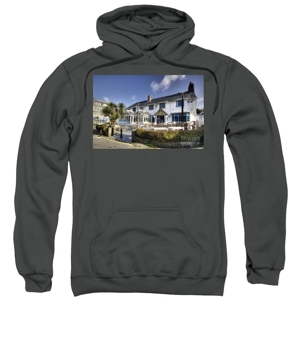 Rising Sweatshirt featuring the photograph Rising Sun At St Mawes by Rob Hawkins