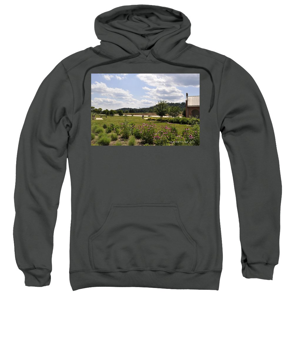 Mountains Sweatshirt featuring the photograph Road Trip 2012 #2 by Verana Stark