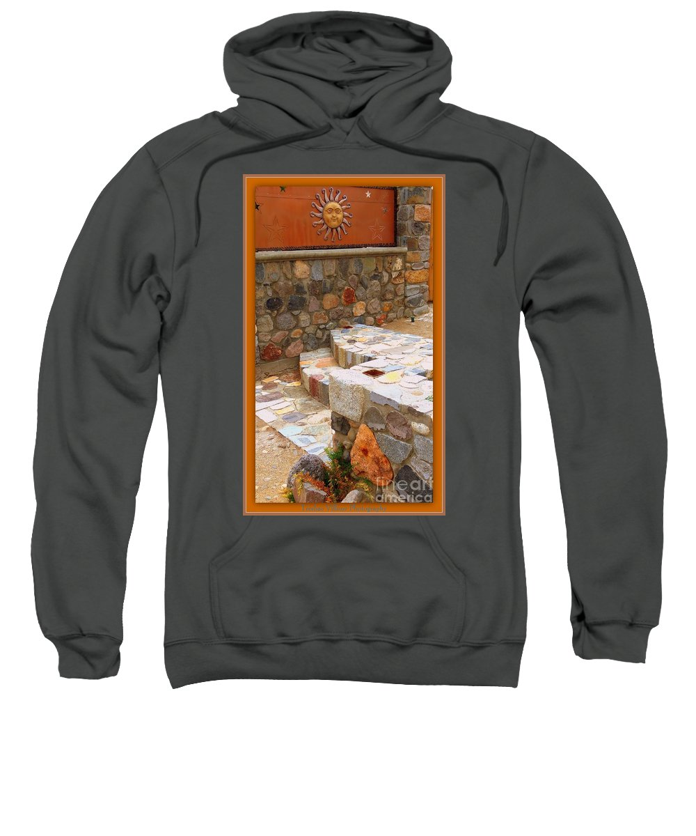 Rock Sweatshirt featuring the photograph Rock On by Bobbee Rickard