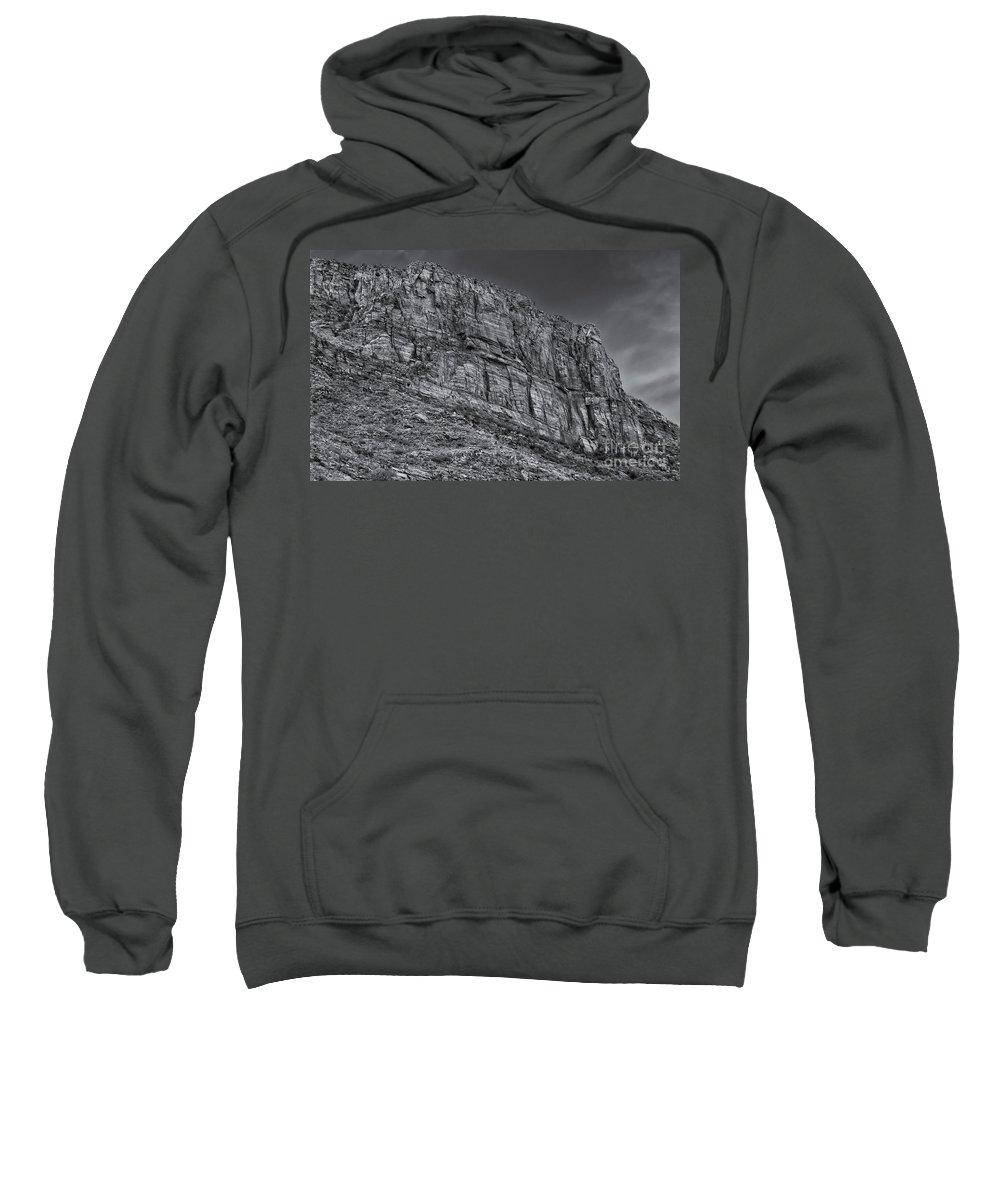 2011 Sweatshirt featuring the photograph Rock Ridge 100 by Mark Myhaver
