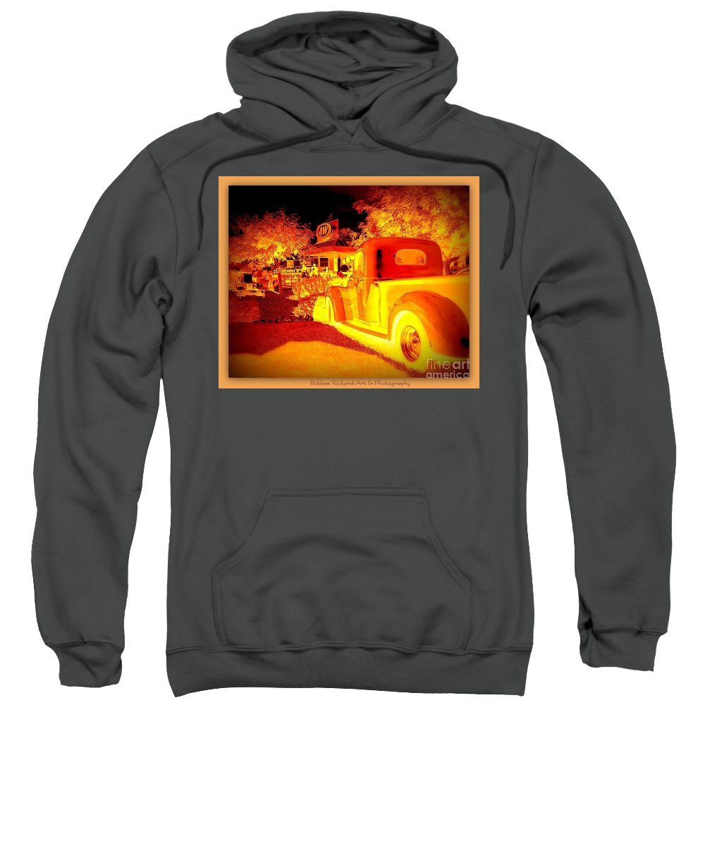 Canvas Prints Sweatshirt featuring the photograph Root Beer For Everyone by Bobbee Rickard