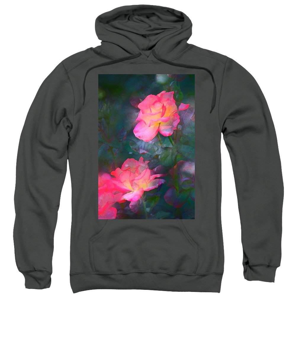 Floral Sweatshirt featuring the photograph Rose 194 by Pamela Cooper