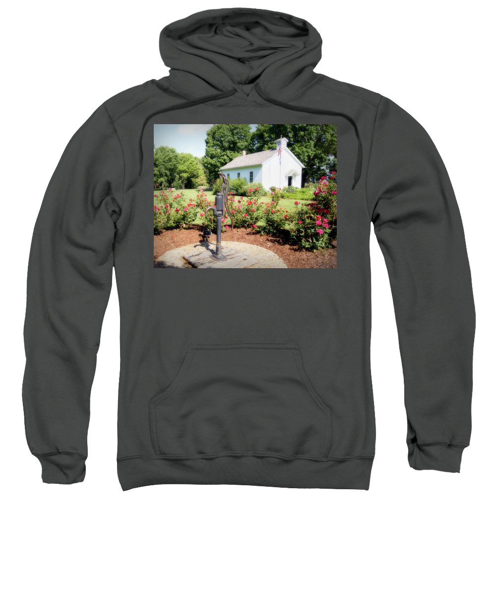 roses Are Red Sweatshirt featuring the photograph Roses Are Red by Cricket Hackmann