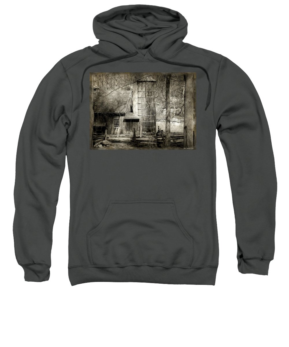 Abandoned Sweatshirt featuring the photograph Roughing It by RC DeWinter