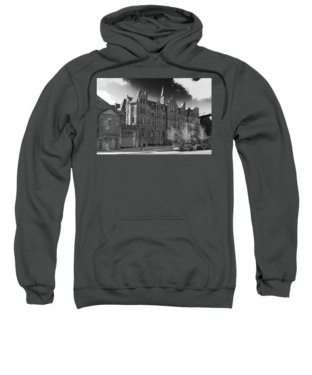 Buildings Sweatshirt featuring the photograph Royal Conservatory Of Music by Guy Whiteley