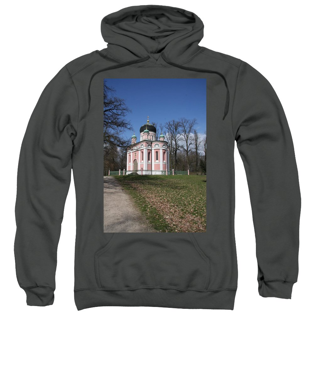 Church Sweatshirt featuring the photograph Russian Church by Christiane Schulze Art And Photography