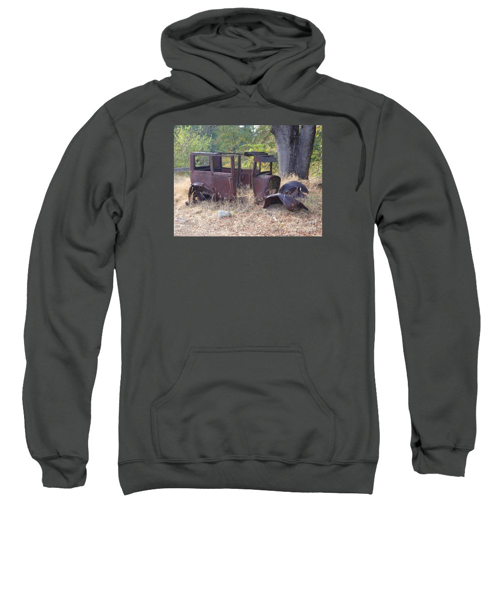 Ford Sweatshirt featuring the photograph Rust In Full Bloom by Mary Deal