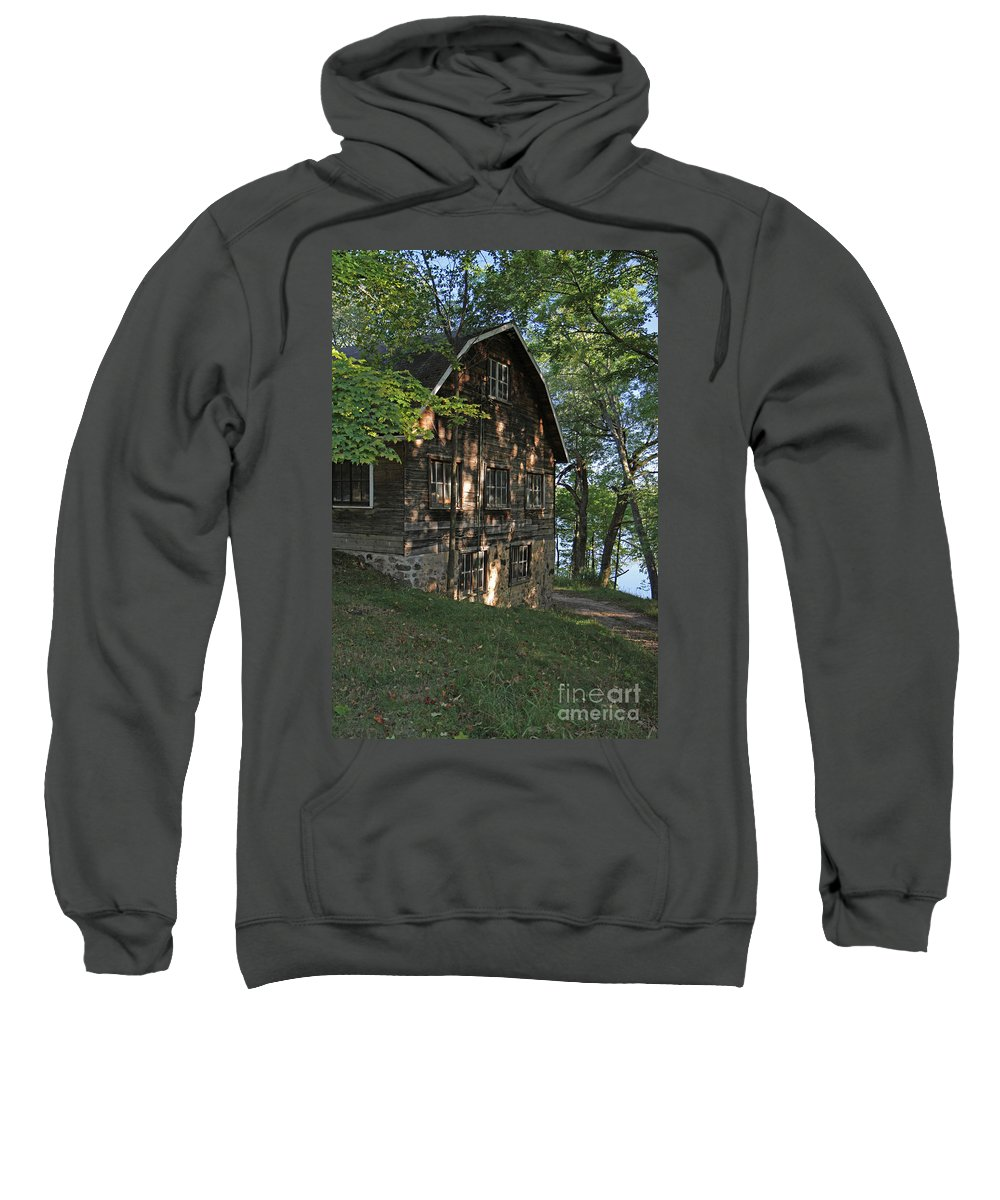 Barn Sweatshirt featuring the photograph Rustic Barn by Kevin McCarthy