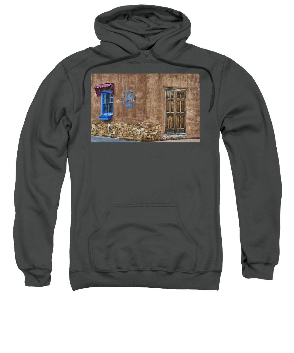 Santa Fe Sweatshirt featuring the photograph Santa Fe Nm 2 by Ron White