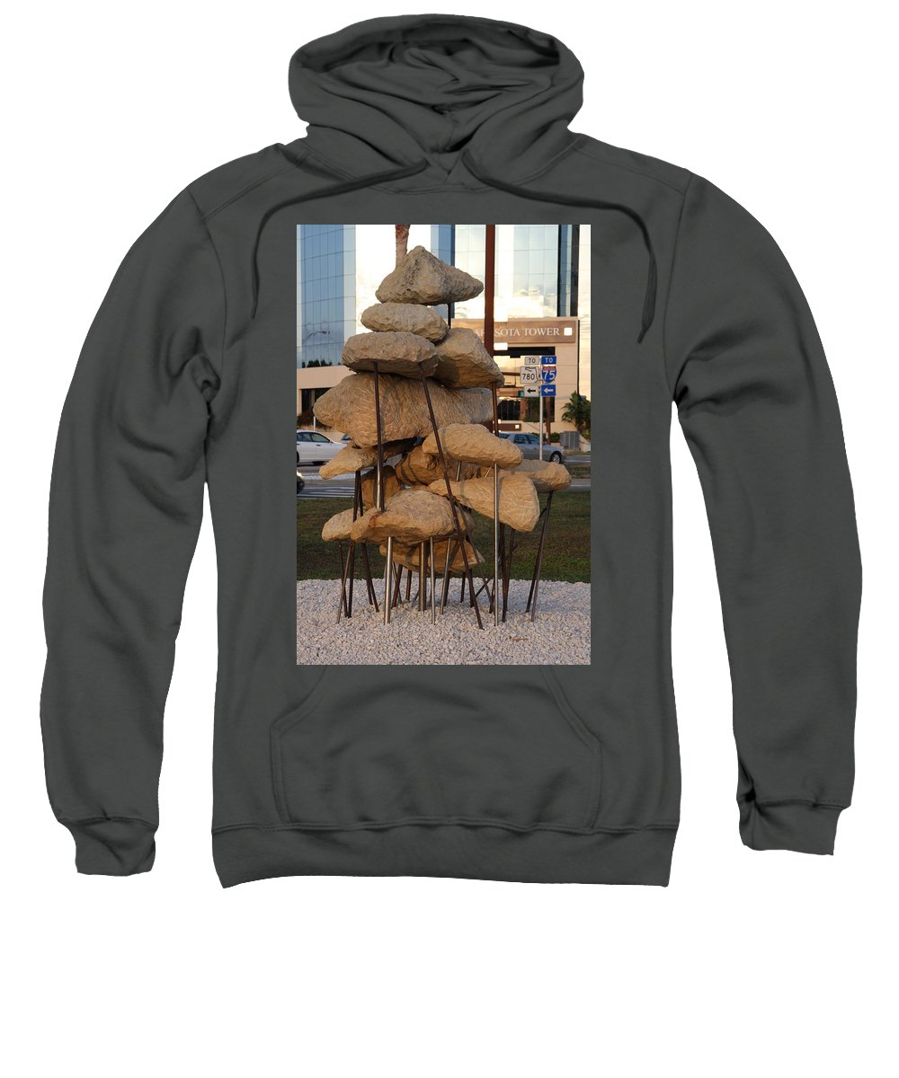 Art Sweatshirt featuring the photograph Sarasota - Art 2010 II by Christiane Schulze Art And Photography