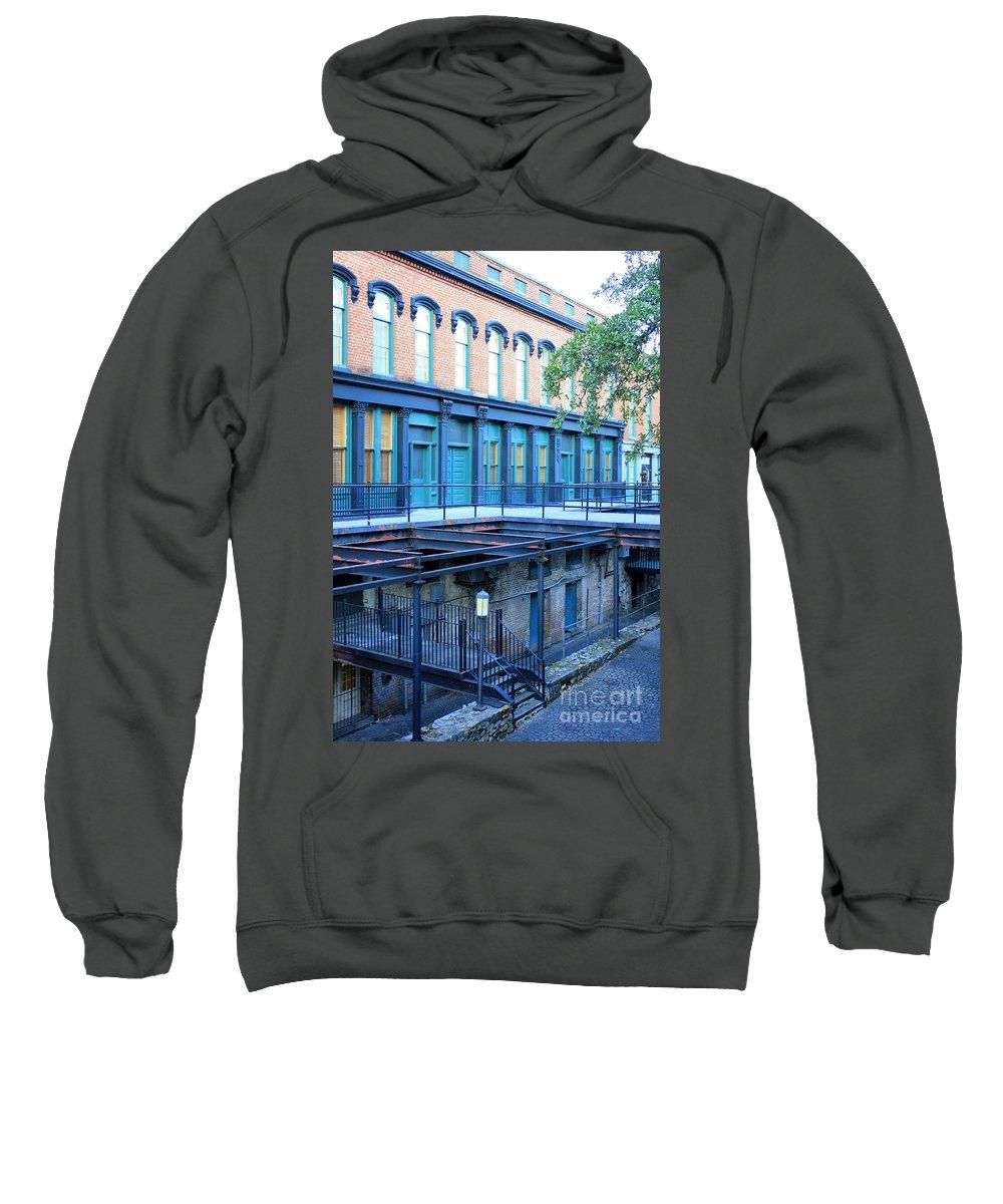 Savannah Sweatshirt featuring the photograph Savannah Blues by Carol Groenen