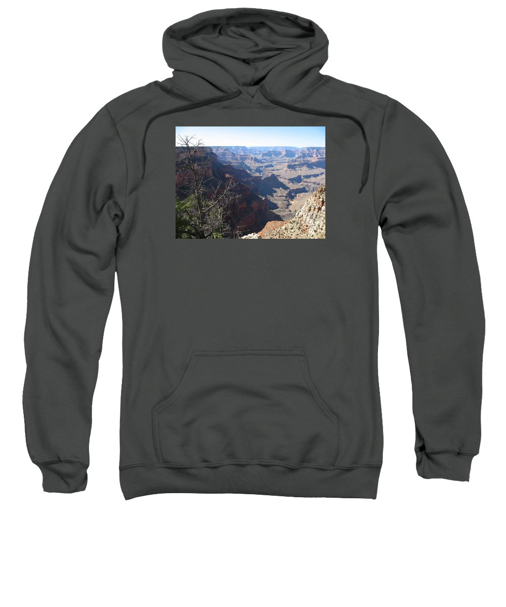 Grand Canyon Sweatshirt featuring the photograph Scenic Grand Canyon by Christiane Schulze Art And Photography
