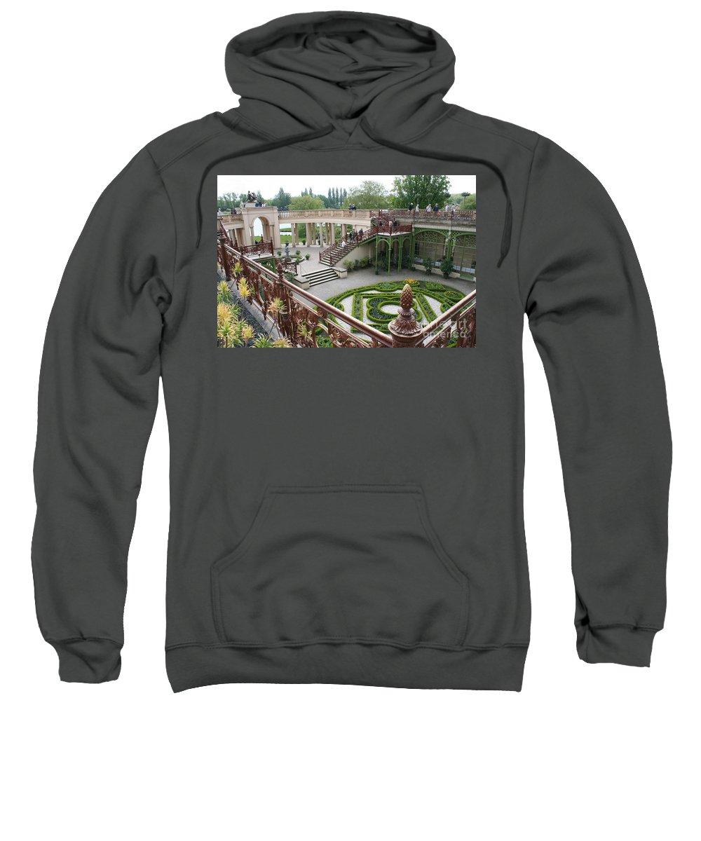 Schwerin Sweatshirt featuring the photograph Schwerin The Orangery by Christiane Schulze Art And Photography