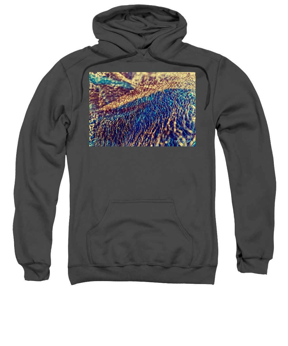 Abstract Photos Sweatshirt featuring the photograph Sea 2 by Justyna JBJart