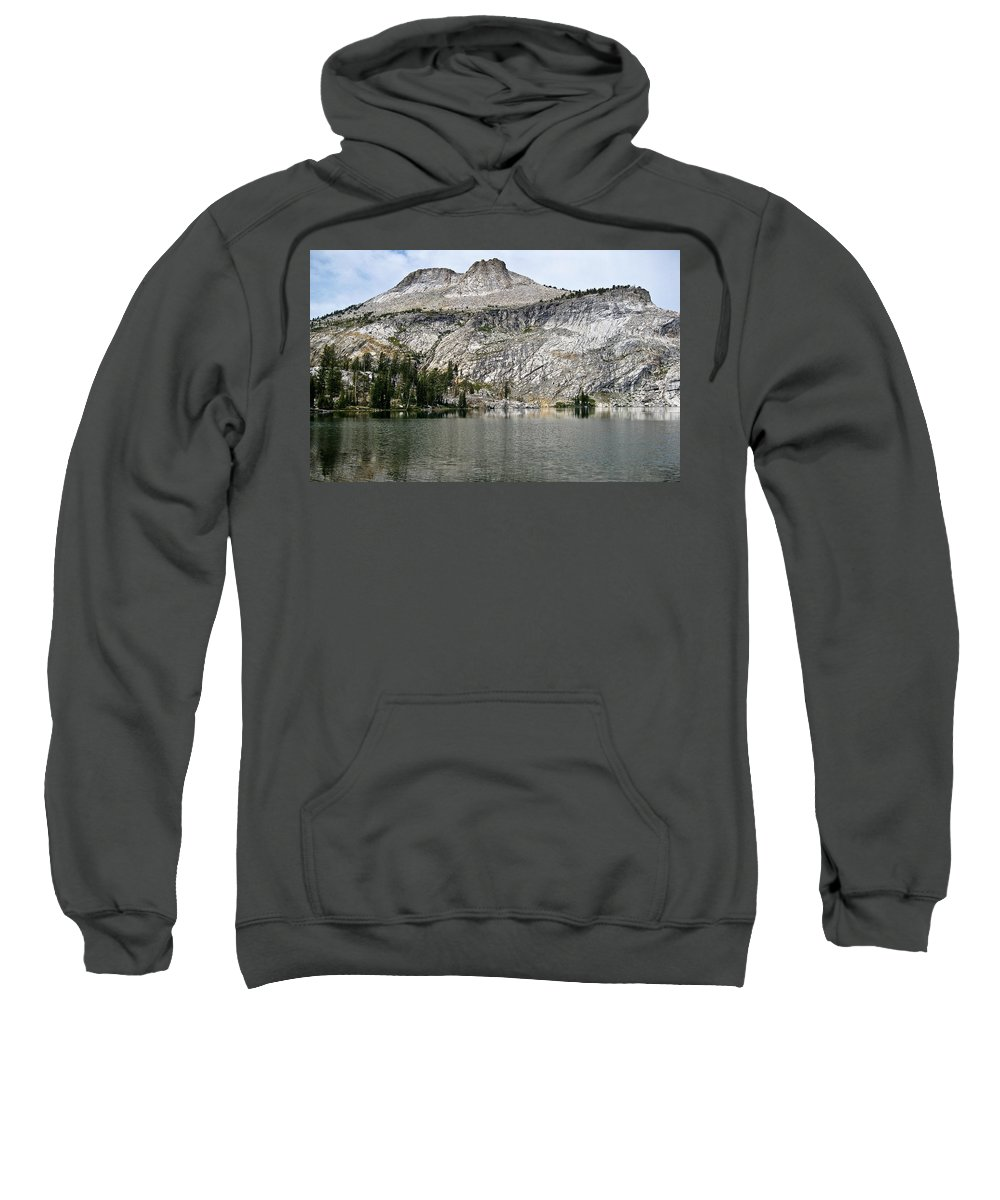 Lake Sweatshirt featuring the photograph Serenity by Brian Williamson