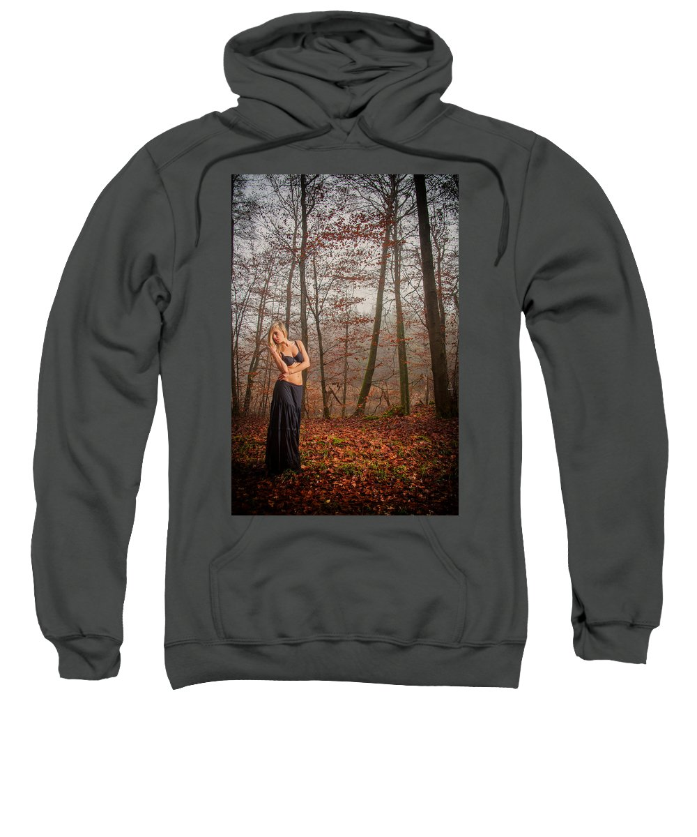 Woman Sweatshirt featuring the photograph Sideview by Ralf Kaiser