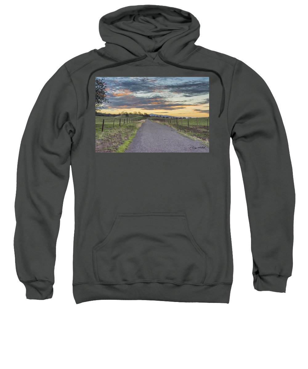 Sunrise Sweatshirt featuring the photograph Sierra Foothills by Doug Holck