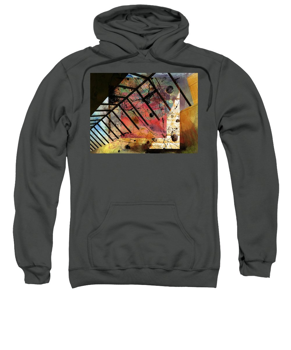 Abstract Art Sweatshirt featuring the photograph Sins Of Purity by The Artist Project