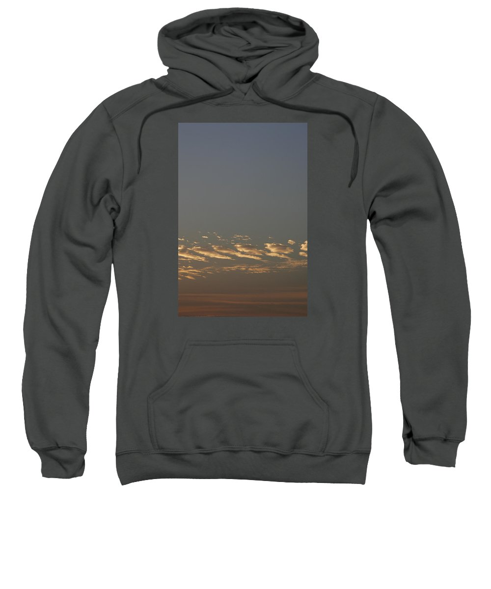 Dramatic Sweatshirt featuring the photograph Skc 0352 Rythmic Clouds by Sunil Kapadia