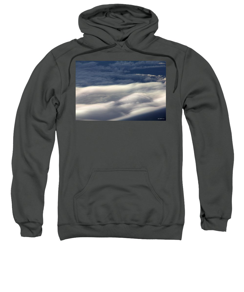 Sky River Sweatshirt featuring the photograph Sky River by Ed Smith