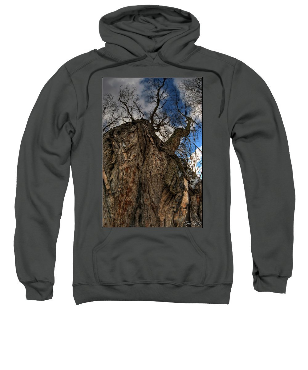 Sweatshirt featuring the photograph Sky's The Limit 02 by Michael Frank Jr