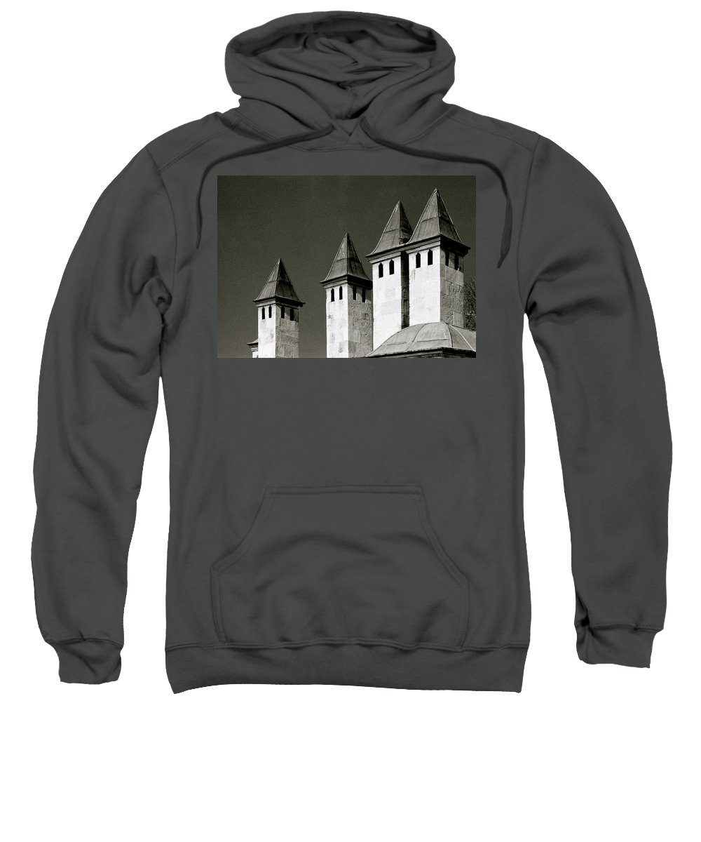 Istanbul Sweatshirt featuring the photograph The Small Minarets by Shaun Higson