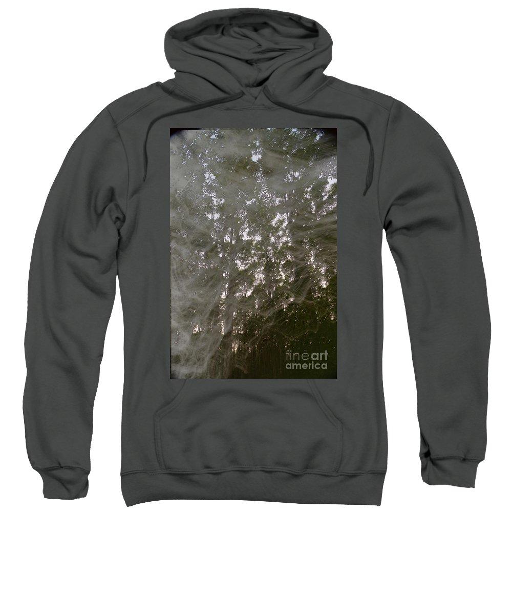 Smoke Sweatshirt featuring the photograph Spirit Smoke by Jeffery L Bowers