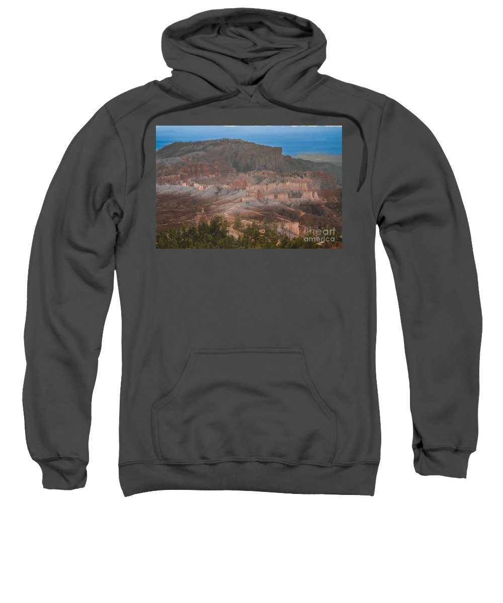 Brown Sweatshirt featuring the photograph Solidly Transparent by Rich Priest