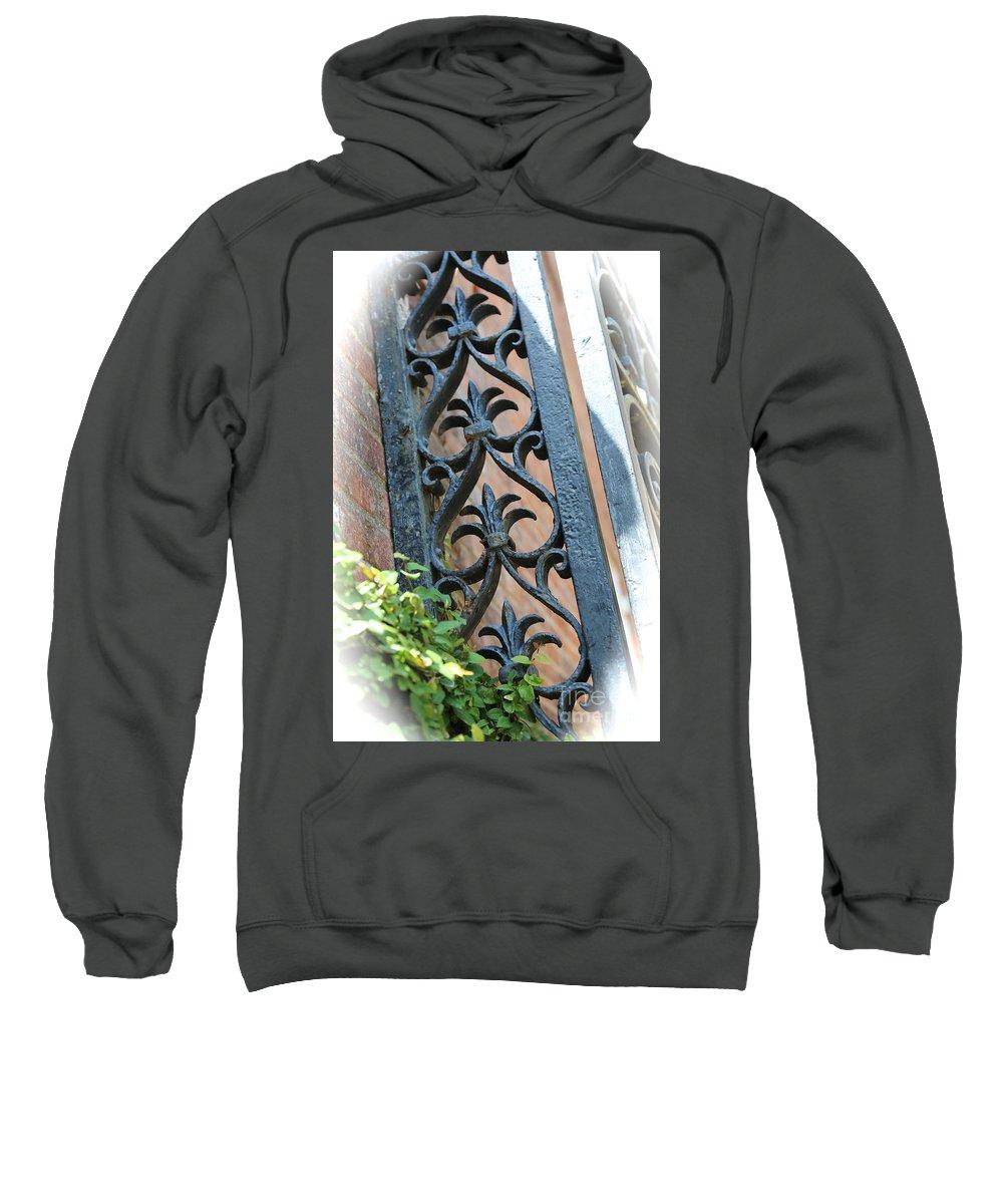 Ironwork Sweatshirt featuring the photograph Southern Ironwork by Carol Groenen