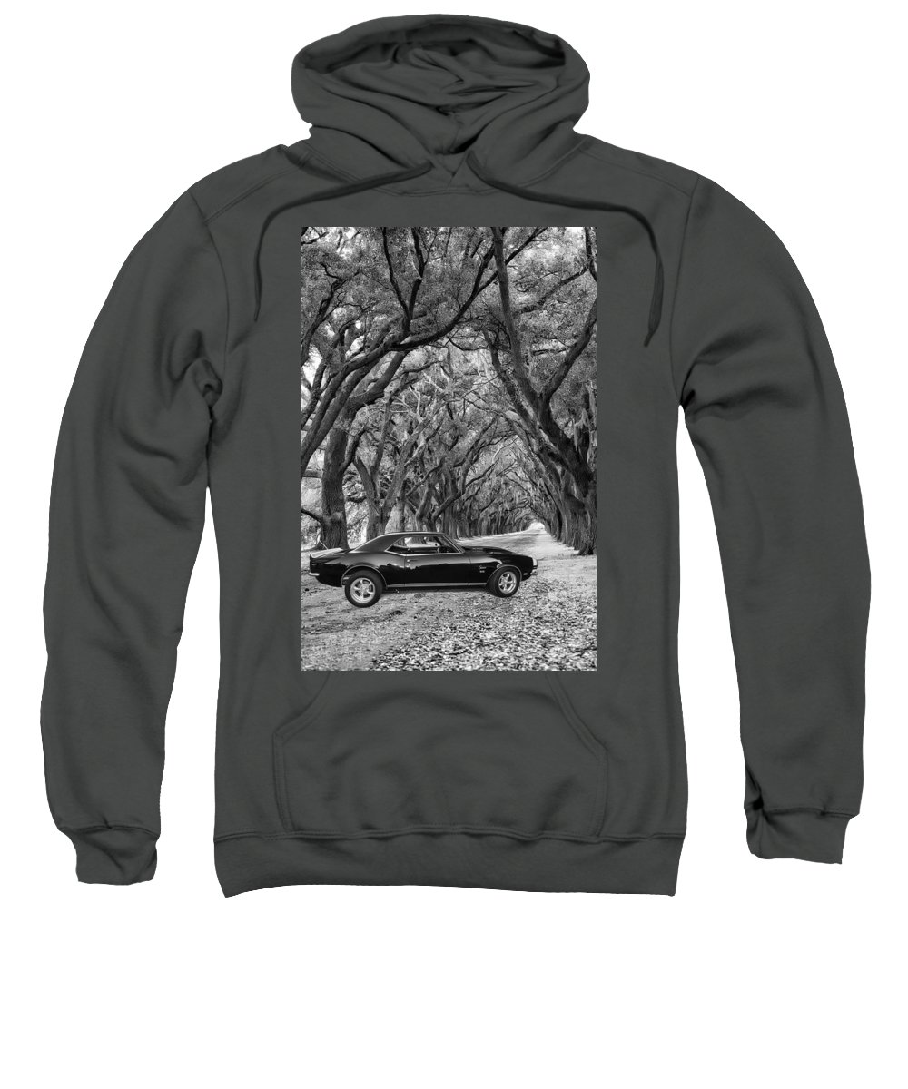 1969 Sweatshirt featuring the photograph Southern Muscle by Steve Harrington