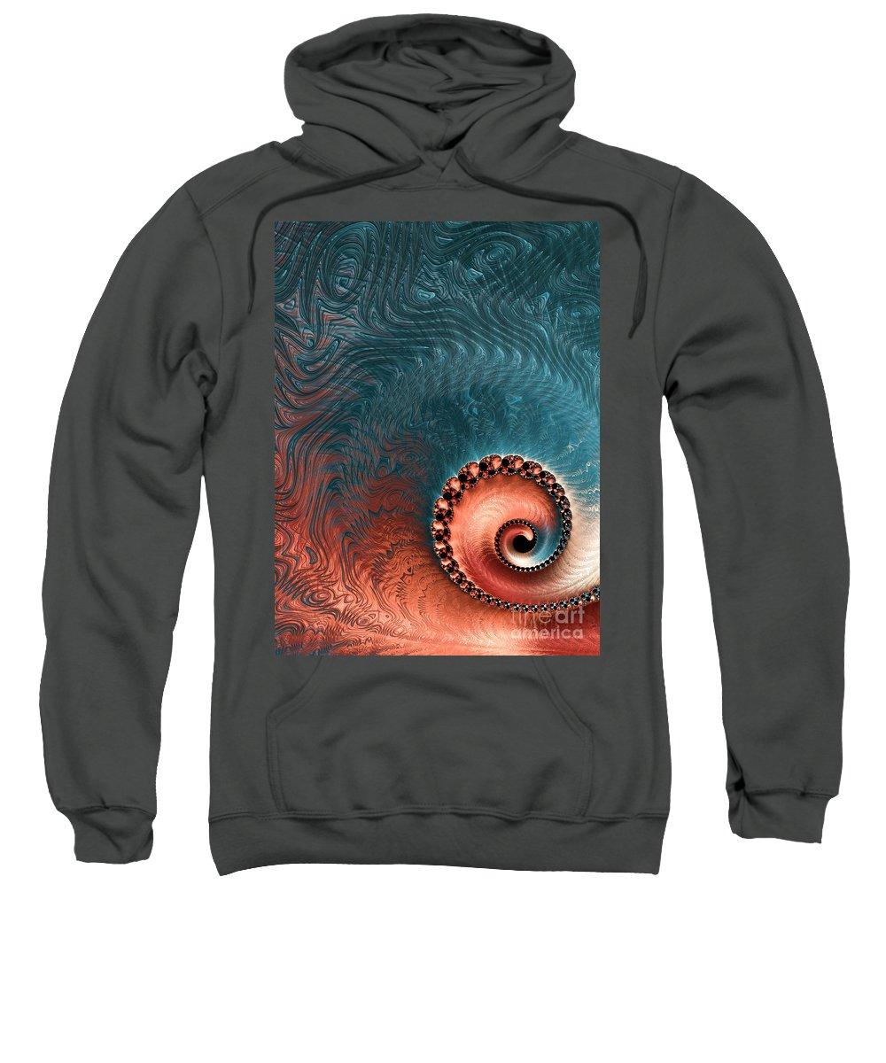 Art Sweatshirt featuring the digital art Southwest Palette by Heidi Smith