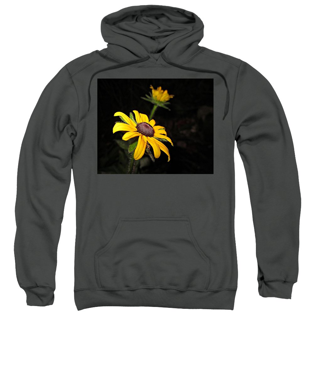 Spider Sweatshirt featuring the photograph Spider On Rudbeckia by MTBobbins Photography