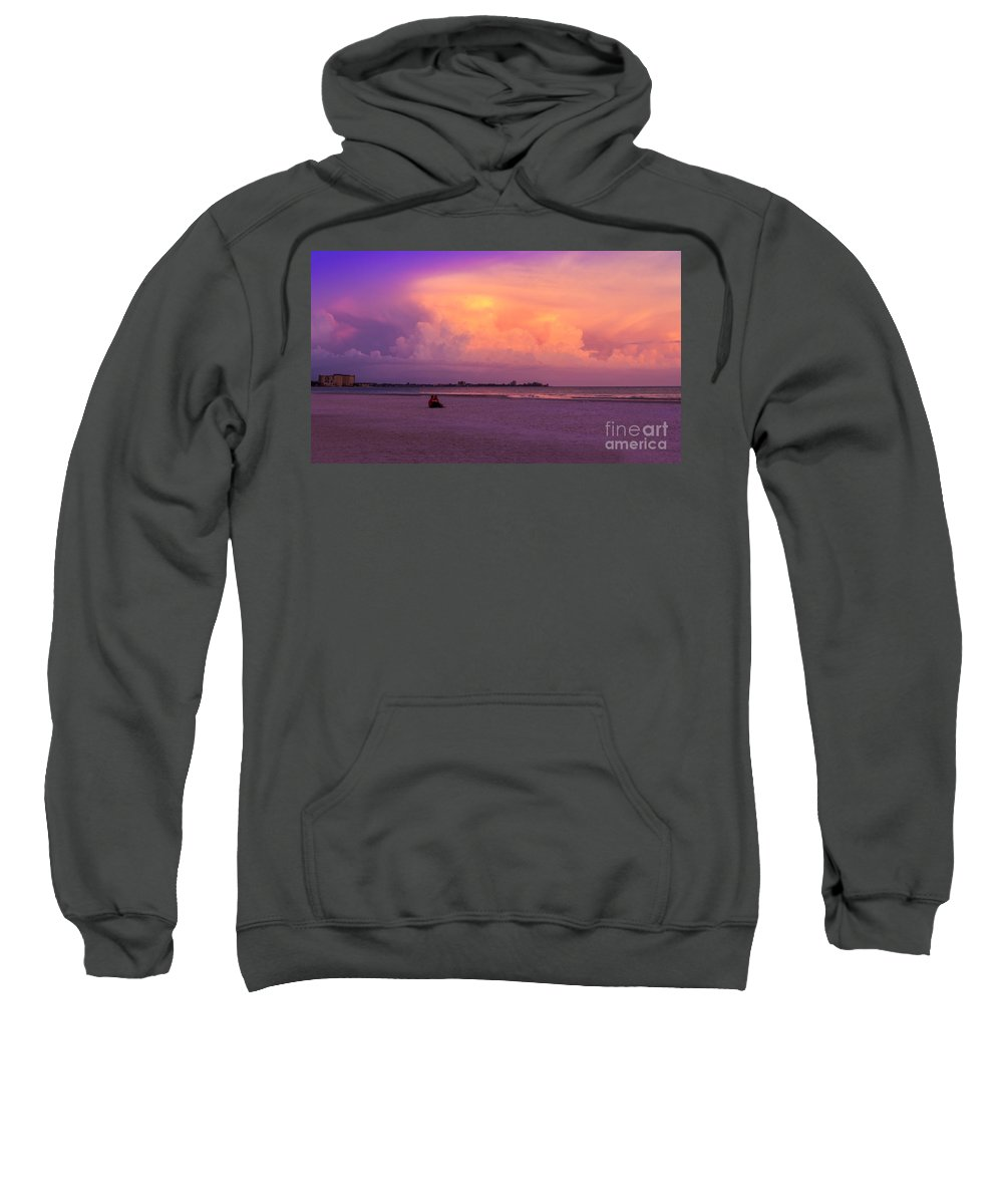 Spring Break Sweatshirt featuring the photograph Spring Break by Marvin Spates