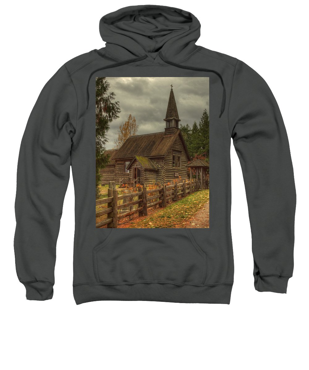 Architecture Sweatshirt featuring the photograph St Anne's by Randy Hall