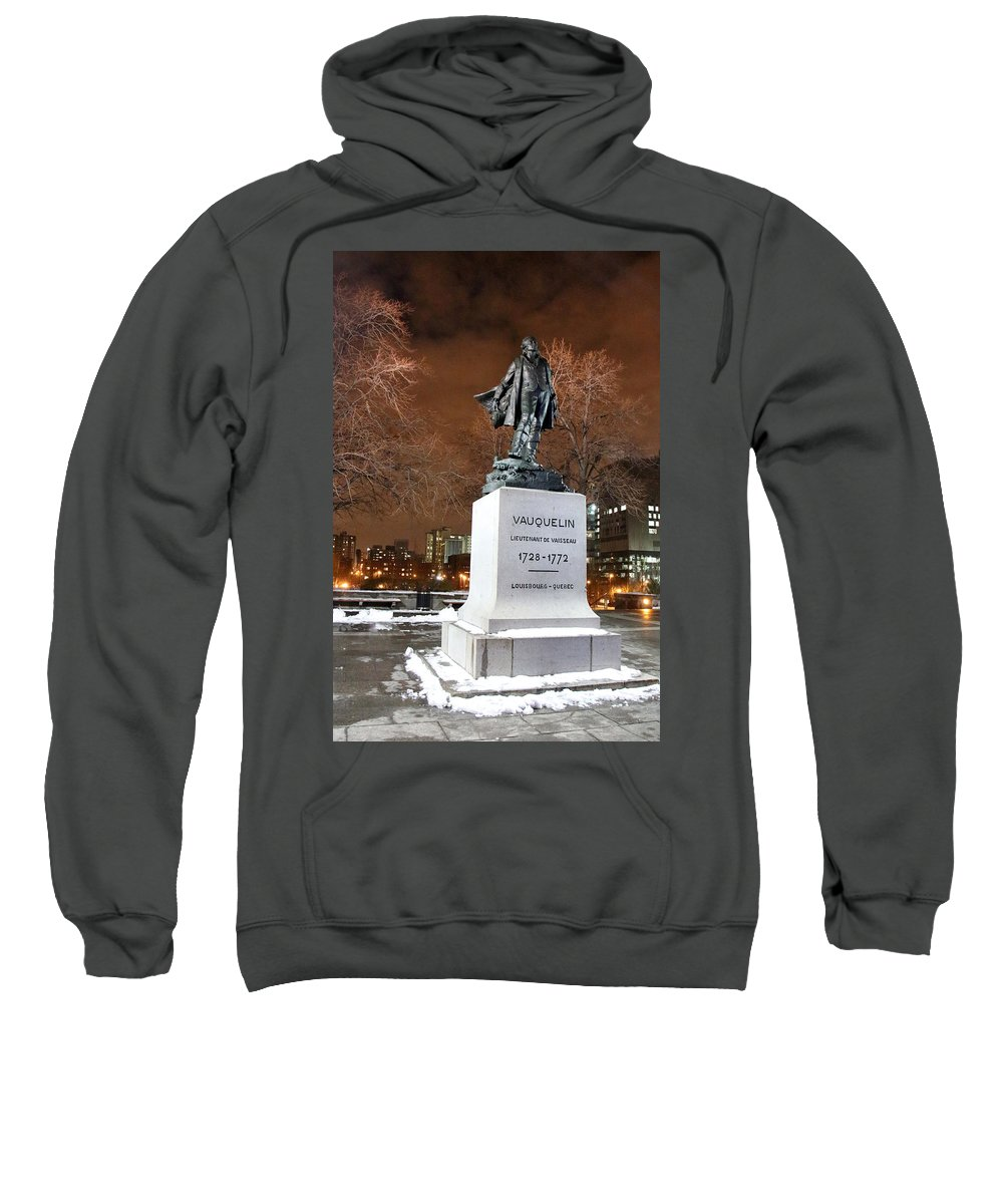 Night Photography Sweatshirt featuring the photograph Standing Tall by Munir Alawi