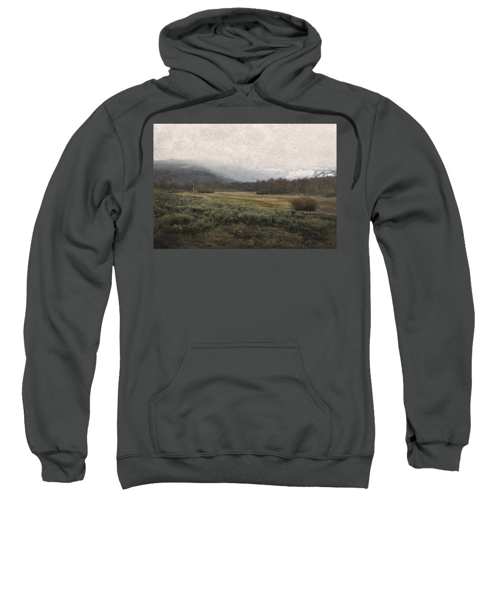 Landscape Sweatshirt featuring the photograph Steens Mountain Landscape - No. 2 by Belinda Greb