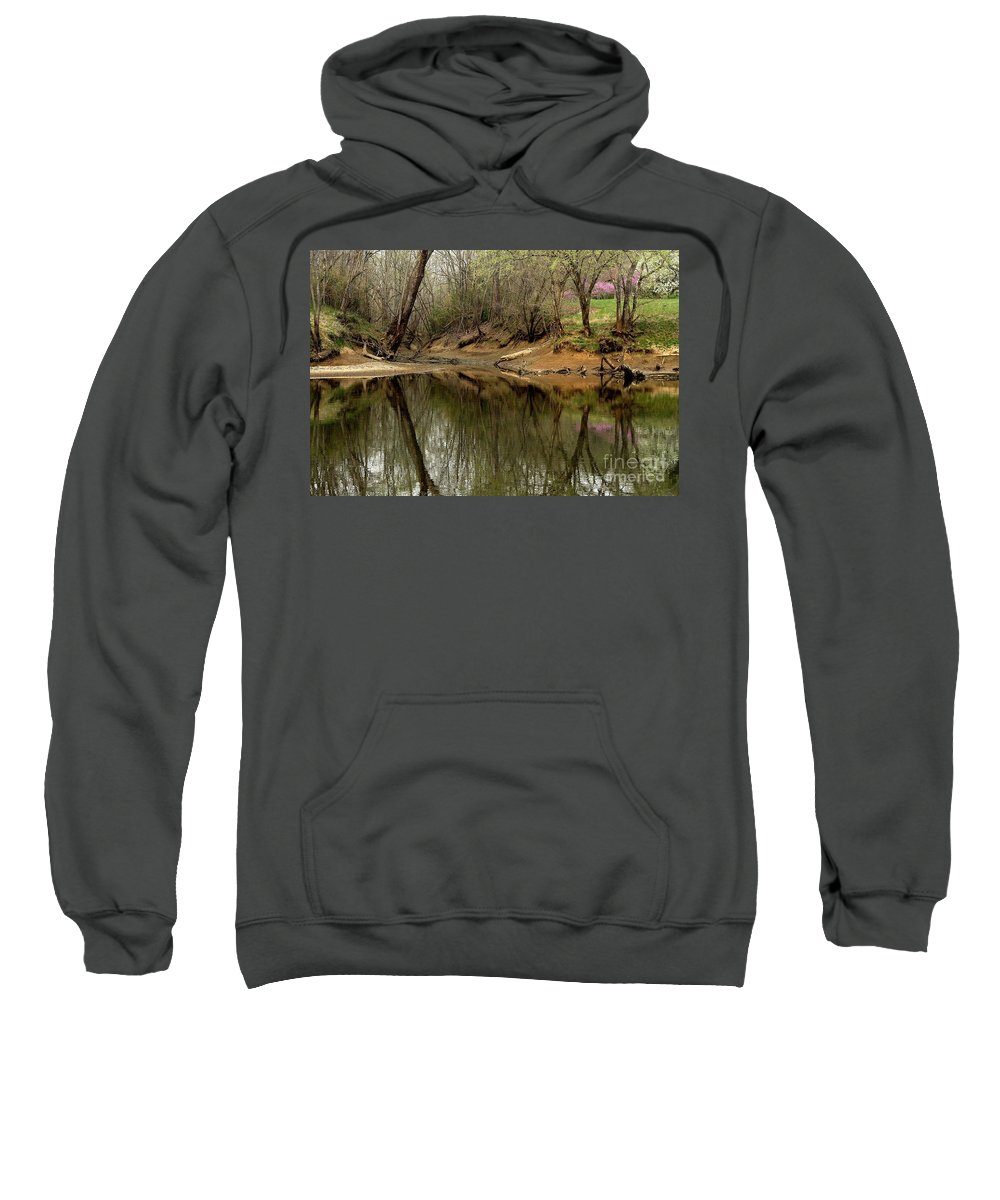 Water Sweatshirt featuring the photograph Still Waters by Douglas Stucky
