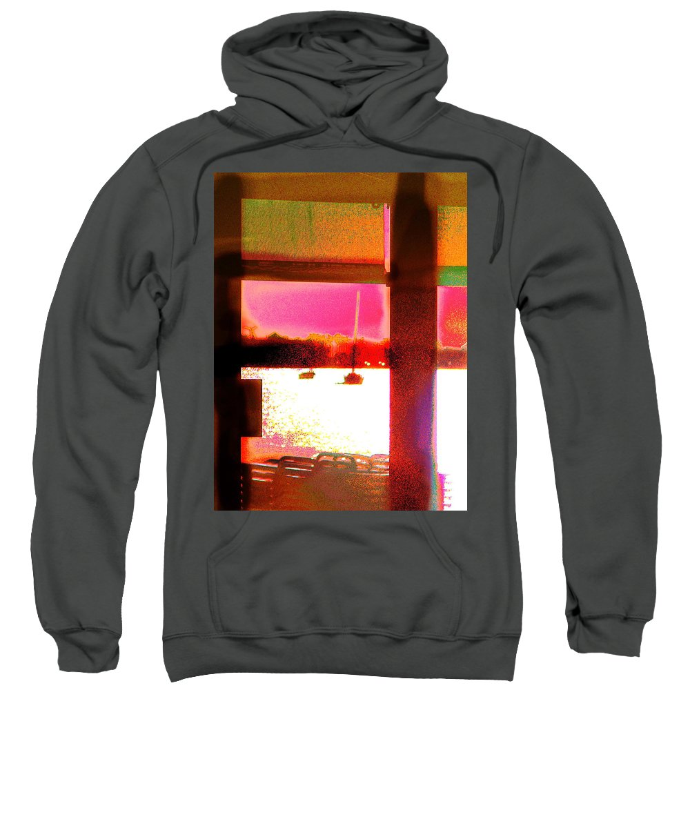 Seascape Sweatshirt featuring the photograph St.maartin Two by Expressionistart studio Priscilla Batzell