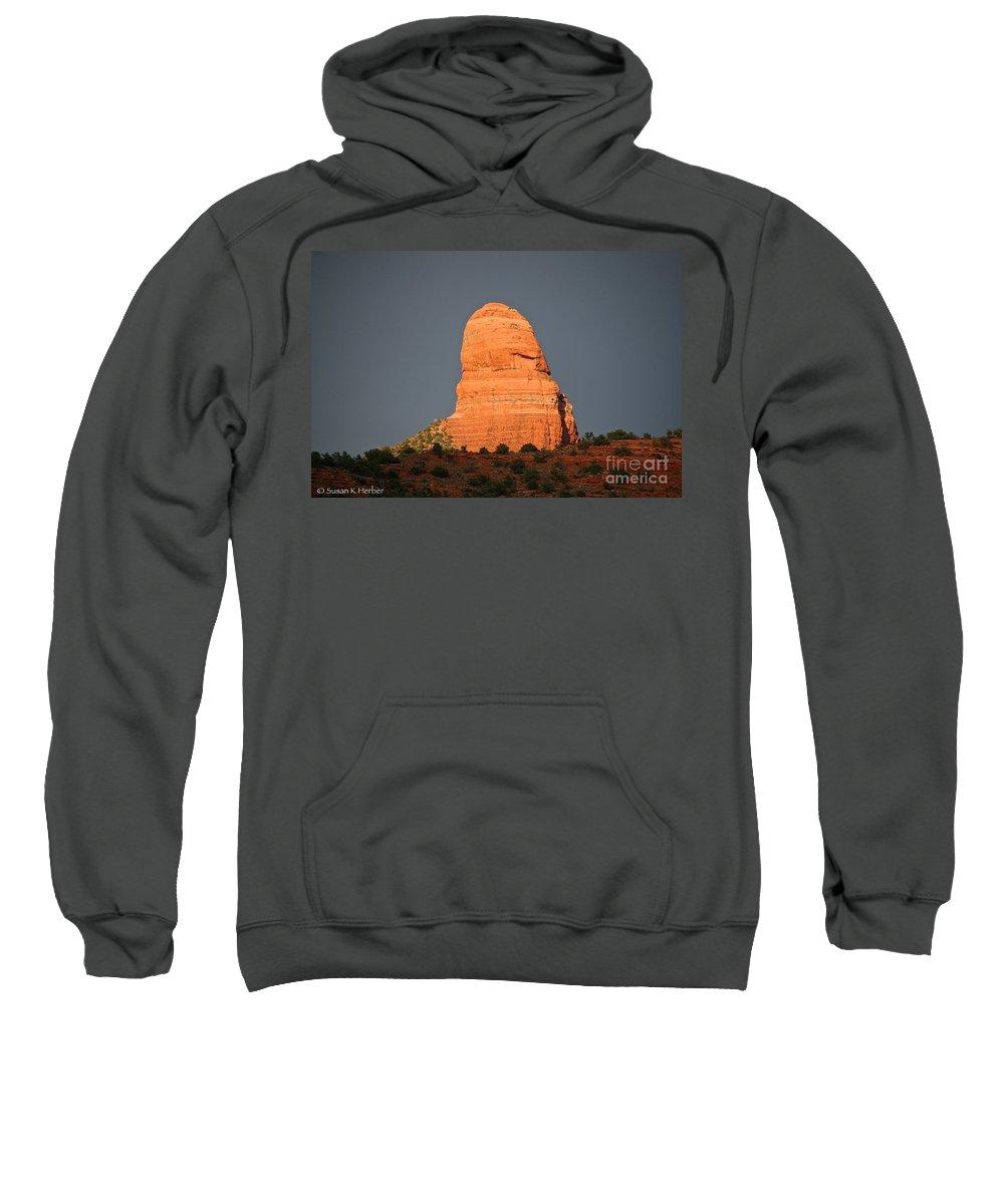 Arizona Sweatshirt featuring the photograph Strength by Susan Herber