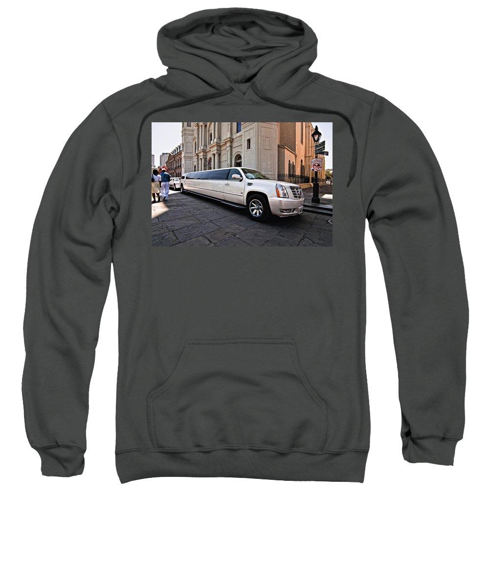 Jackson Square Sweatshirt featuring the photograph Stretch by Steve Harrington