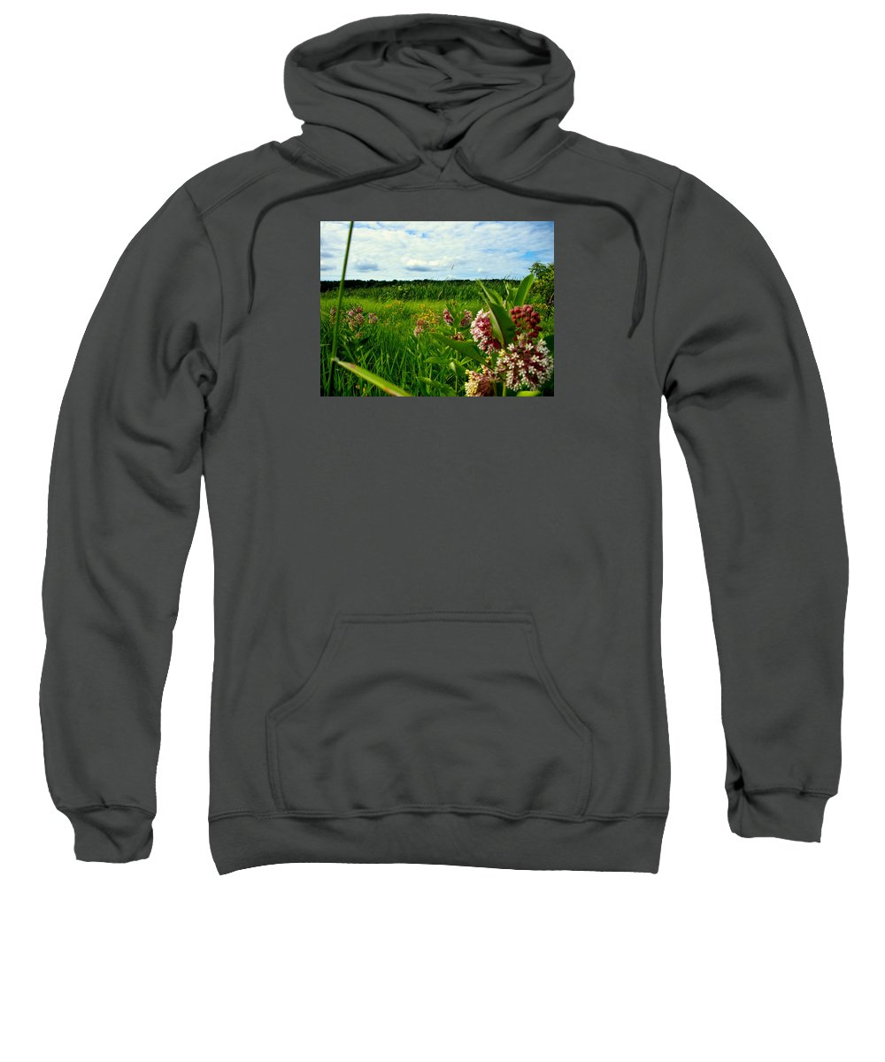 Flower Sweatshirt featuring the photograph Summer Breeze by Zafer Gurel