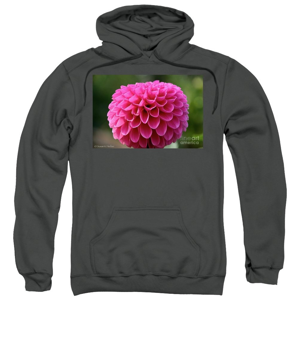 Flower Sweatshirt featuring the photograph Summer Celebrated by Susan Herber