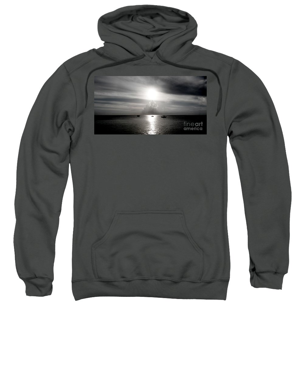 Color Sweatshirt featuring the photograph Sun Worship by Amar Sheow